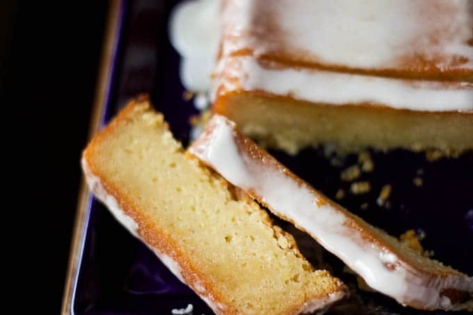 lemon pound cake gluten-free with glaze