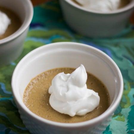 vanilla chai pots de creme | saltedplains.com