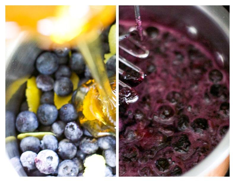 blueberry honey | saltedplains.com