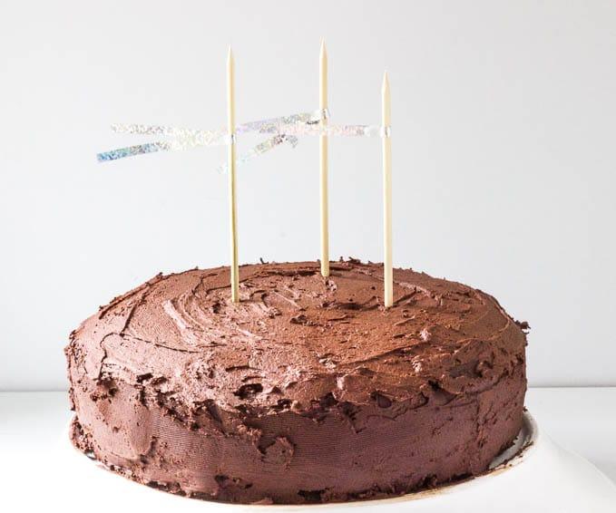 Gluten-Free Chocolate Cake For A Birthday