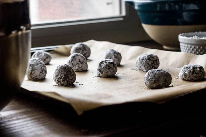 gluten-free dark chocolate crinkle cookies-5