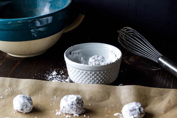gluten-free dark chocolate crinkle cookies-8