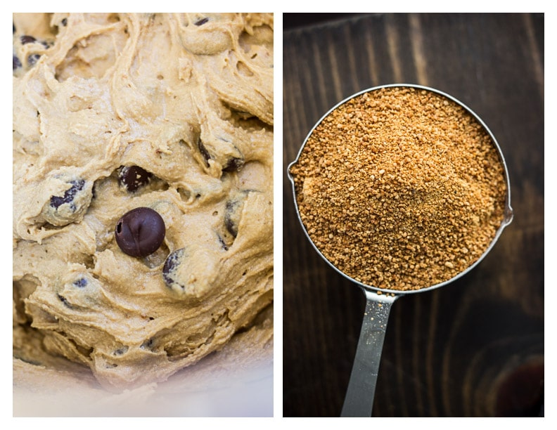 Coconut Sugar Chocolate Chip Cookies #glutenfree | saltedplains.com