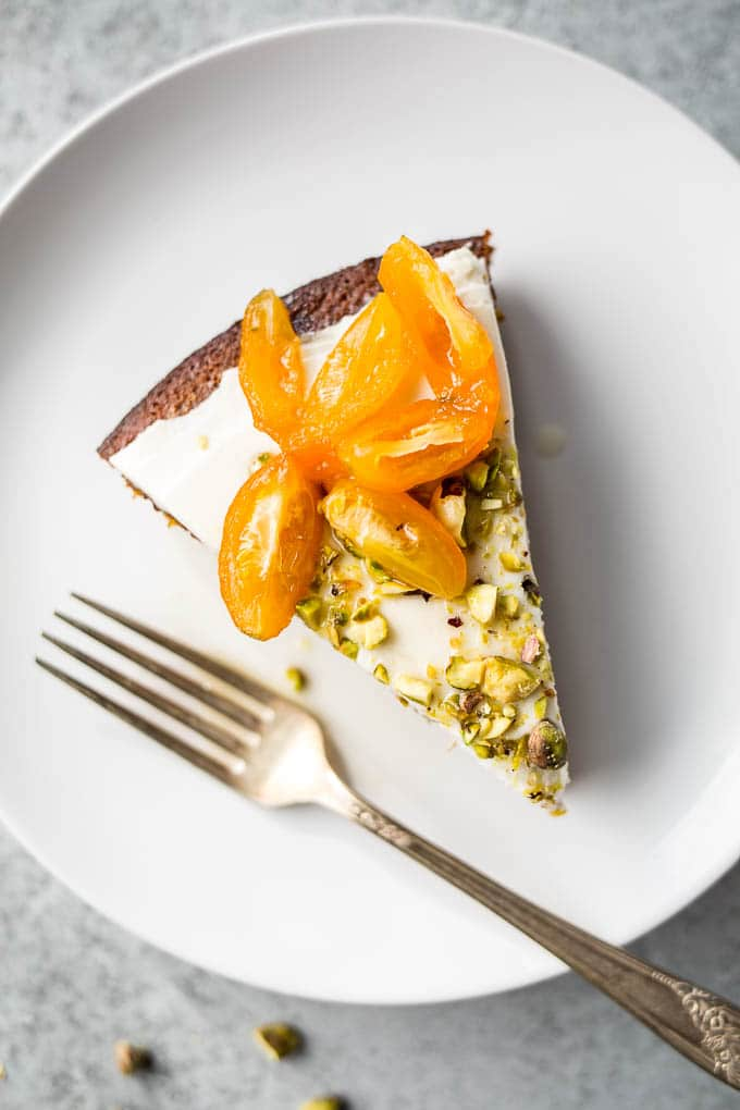 Pistachio Olive Oil Cake with Honeyed Kumquats (Gluten-Free ...