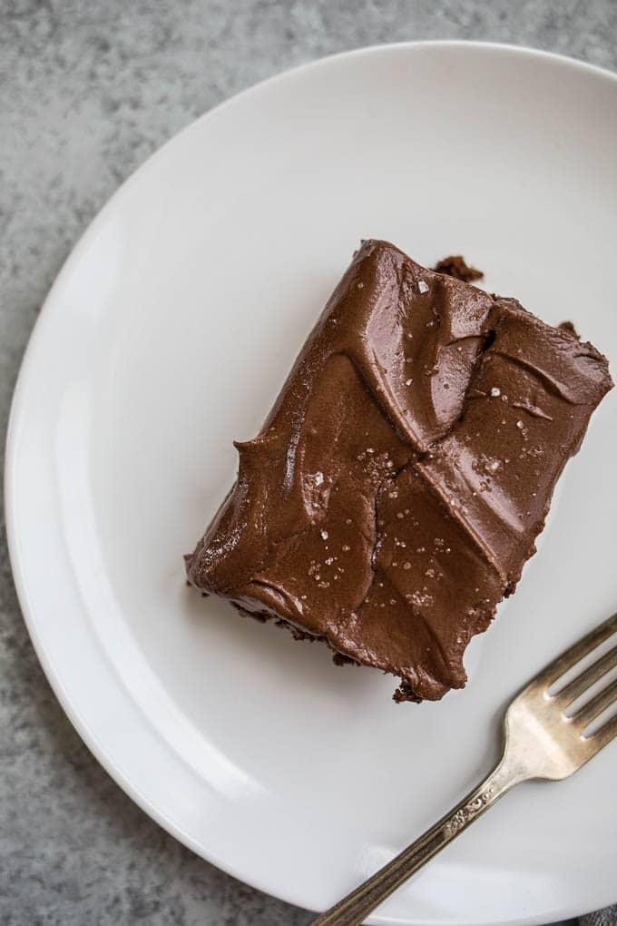 Gluten-Free Chocolate Cake | saltedplains.com