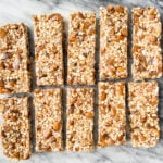No Bake Apricot Almond Granola Bars (gluten-free, refined sugar-free) | saltedplains.com