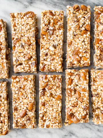 No Bake Apricot Almond Granola Bars (gluten-free, refined sugar-free)   saltedplains.com