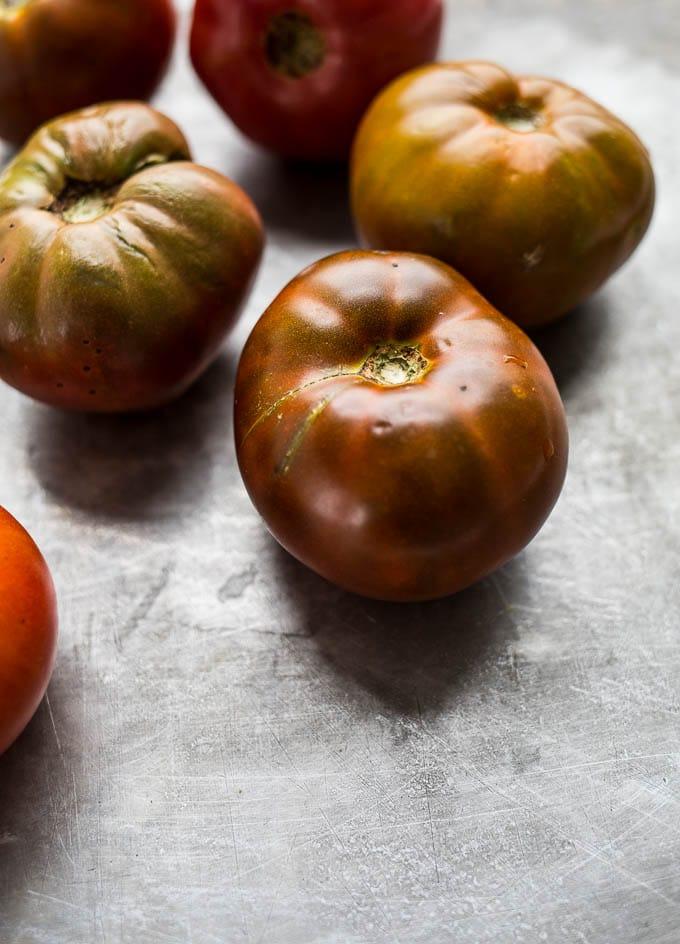 Easy Polenta Panzanella (gluten-free) | saltedplains.com