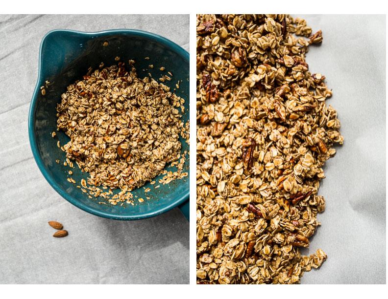 French Toast Granola (gluten-free, vegan) | saltedplains.com