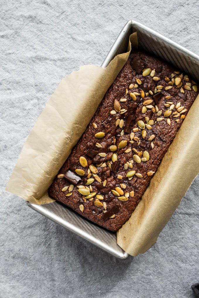 Easy Pumpkin Bread (gluten-free, refined sugar-free) | saltedplains.com