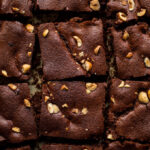 Flourless Chocolate Hazelnut Bars Recipe (dairy-free, refined sugar-free) | saltedplains.com