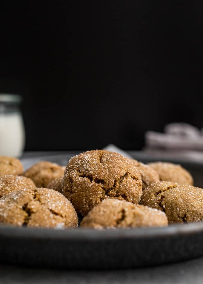 Chewy Gluten-Free Gingersnaps – Salted Plains
