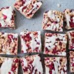 Raspberry Coconut Crispies (gluten-free, vegan) | saltedplains.com