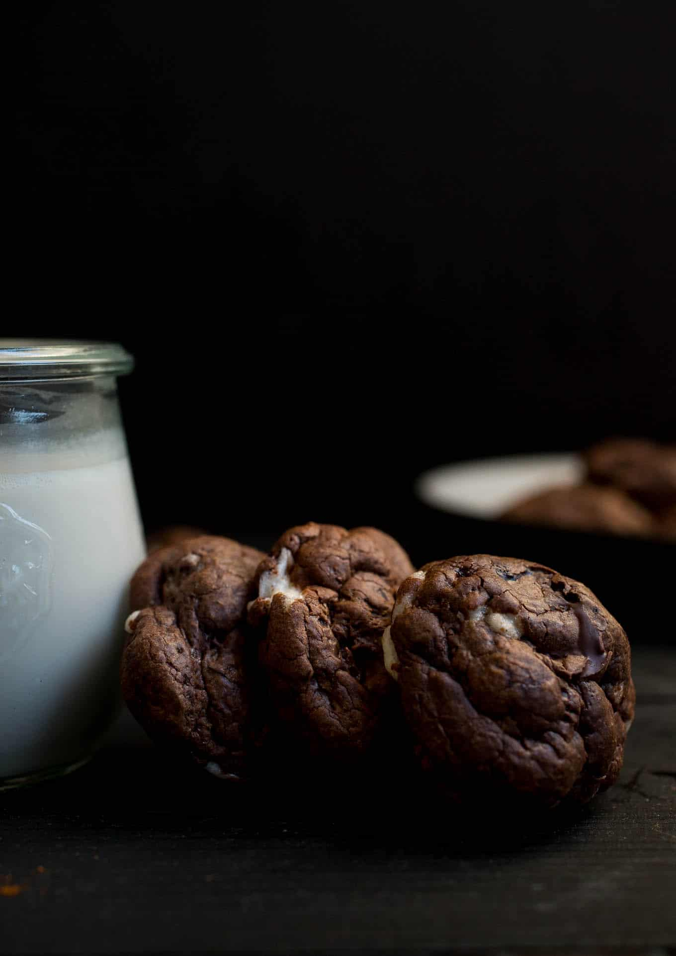 Mexican Hot Chocolate Cookies (gluten-free) | saltedplains.com