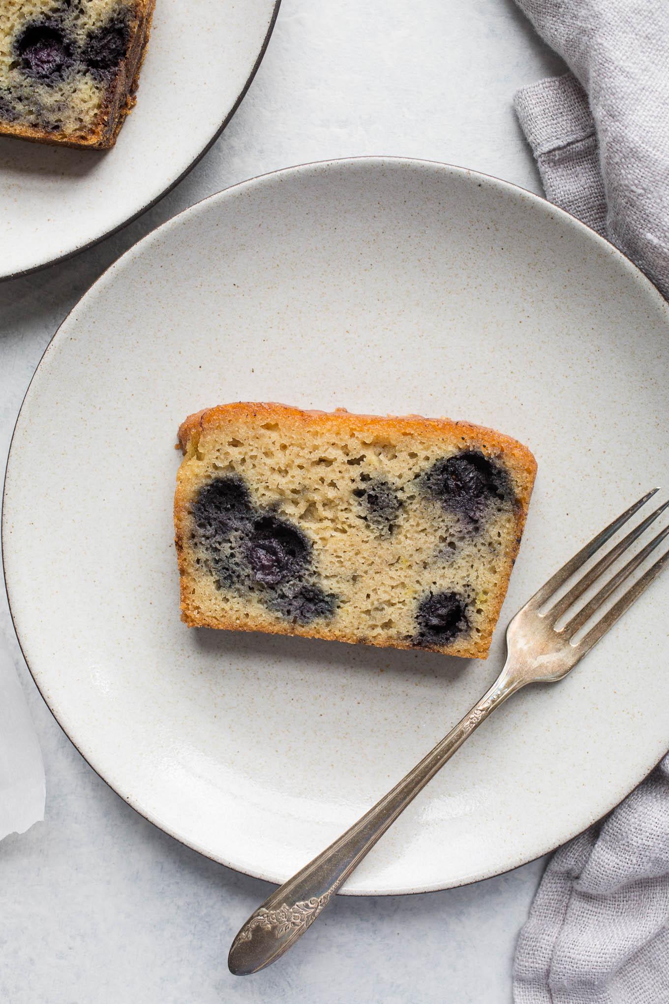 Blueberry Almond Meal Cake Gluten Free