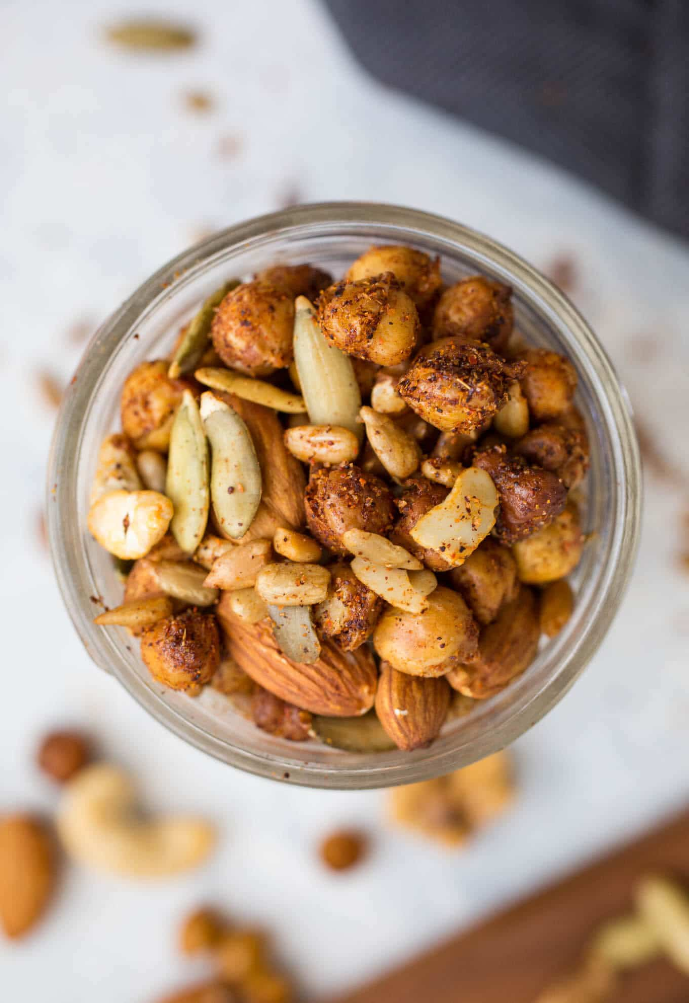 Spicy Roasted Chickpea Snack Mix – Salted Plains
