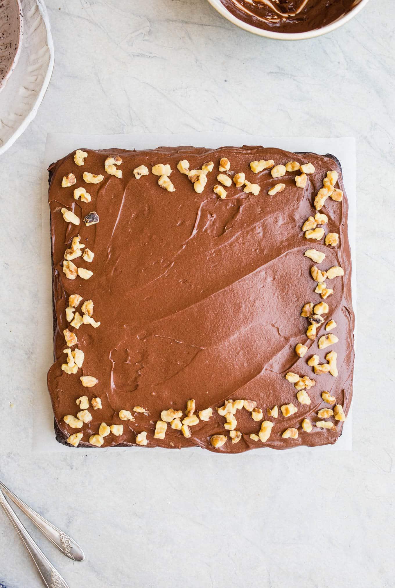 Dairy Free Coffee And Walnut Cake Recipe