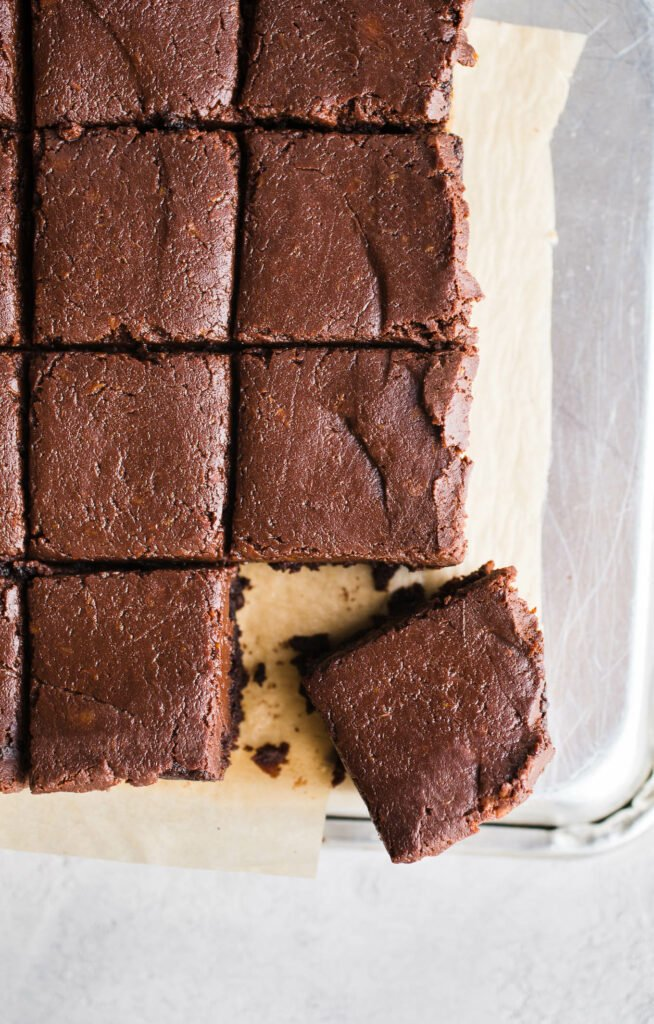 Easy Sweet Potato Brownies Gluten Free Vegan Salted Plains