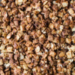 Coconut Chocolate Chex Party Mix is an easy dairy-free sweet chex mix made with coconut butter and maple syrup. A healthier gluten-free and vegan chex mix recipe!