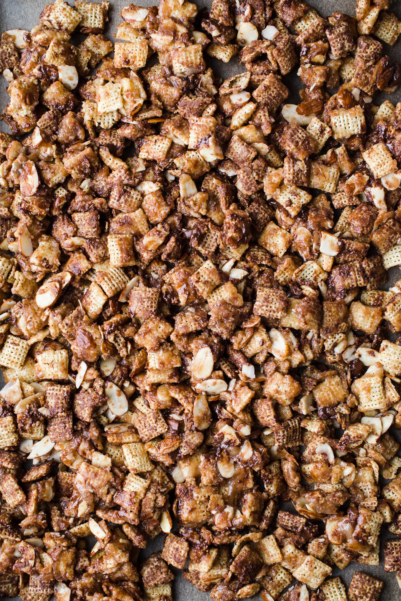 Coconut Chocolate Chex Mix is an easy dairy-free sweet chex mix made with coconut butter and maple syrup. A healthier gluten-free and vegan chex mix recipe!