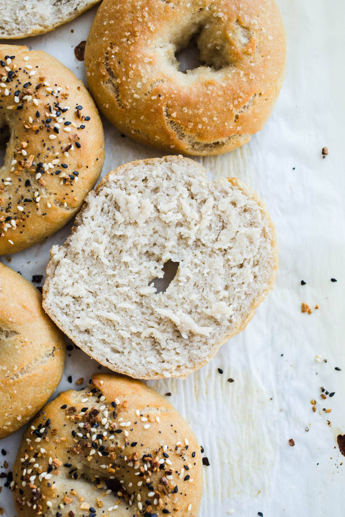 Easy Gluten-Free Bagels (Vegan)