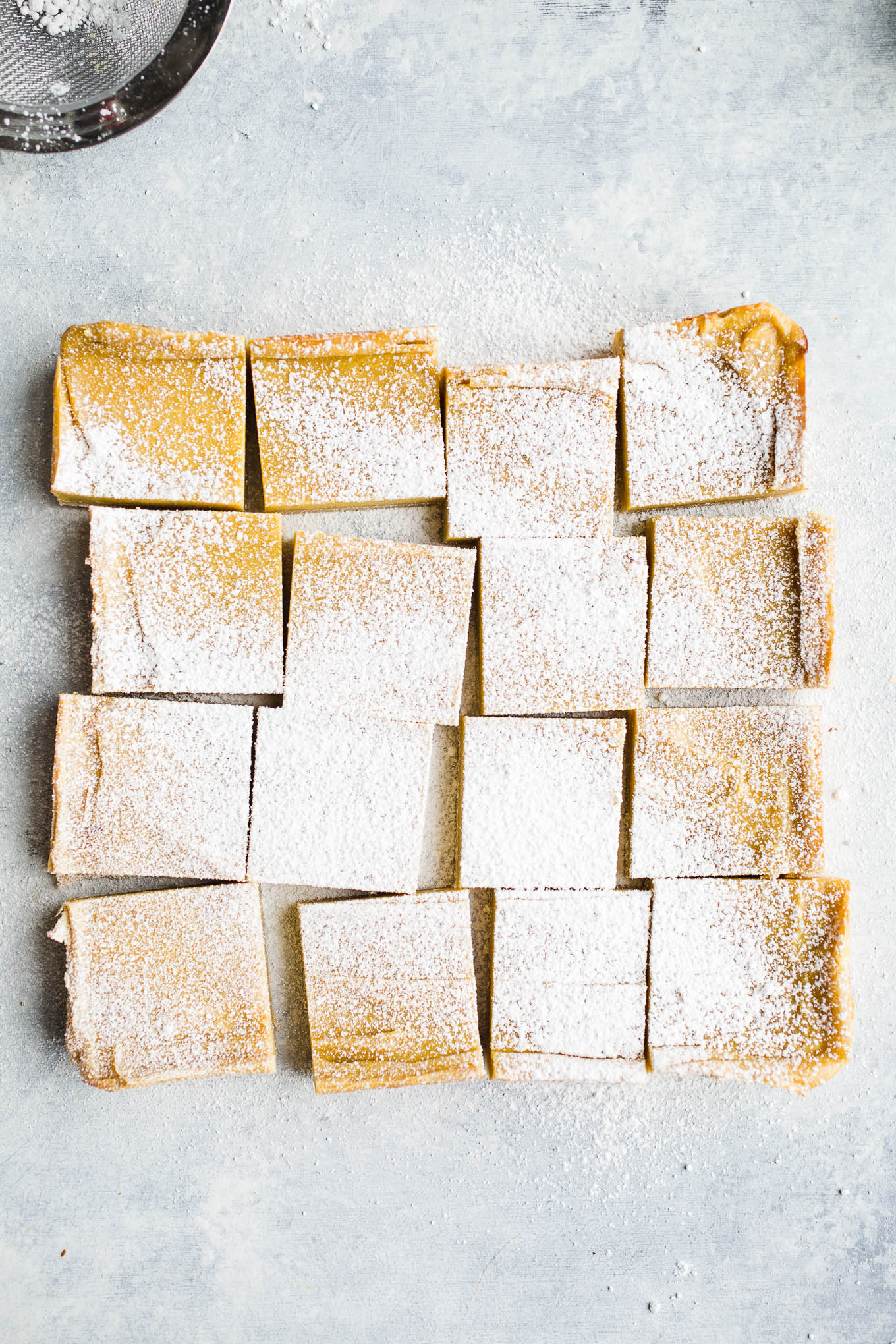 Vegan Gluten-Free Lemon Bars
