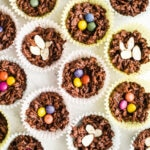 No-Bake Chocolate Peanut Butter Bird Nests