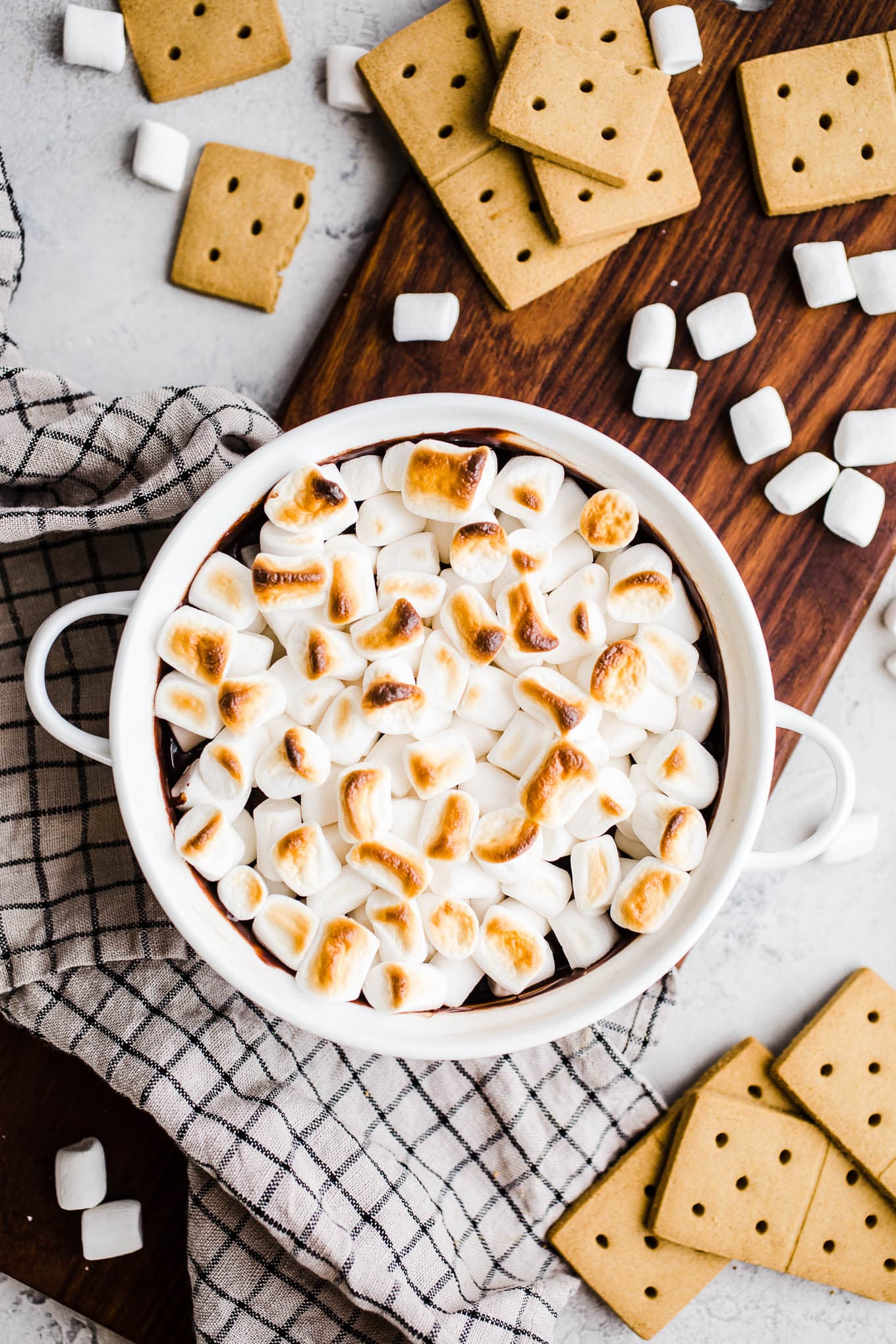 Dairy-Free S'mores Dip