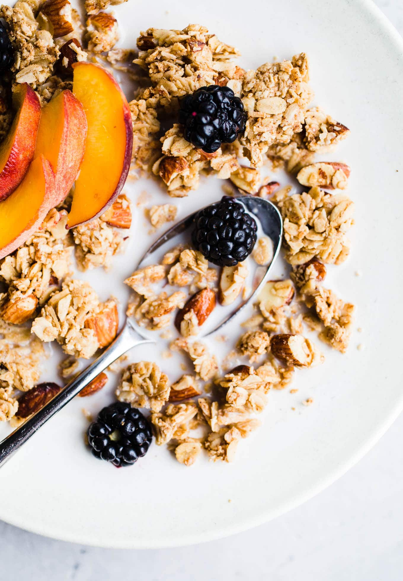 Best Almond Butter Granola