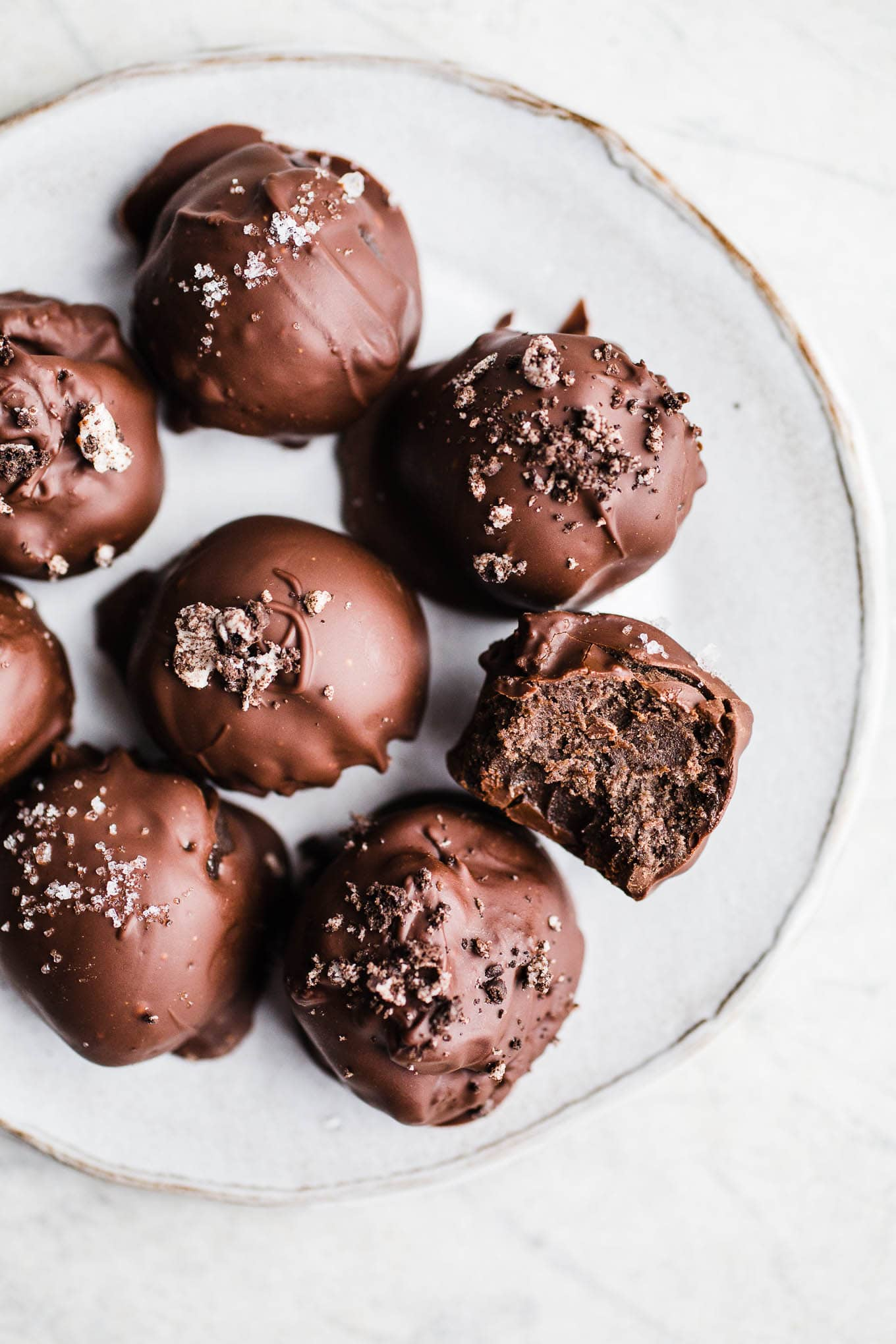 Gluten-Free Oreo Cookie Balls