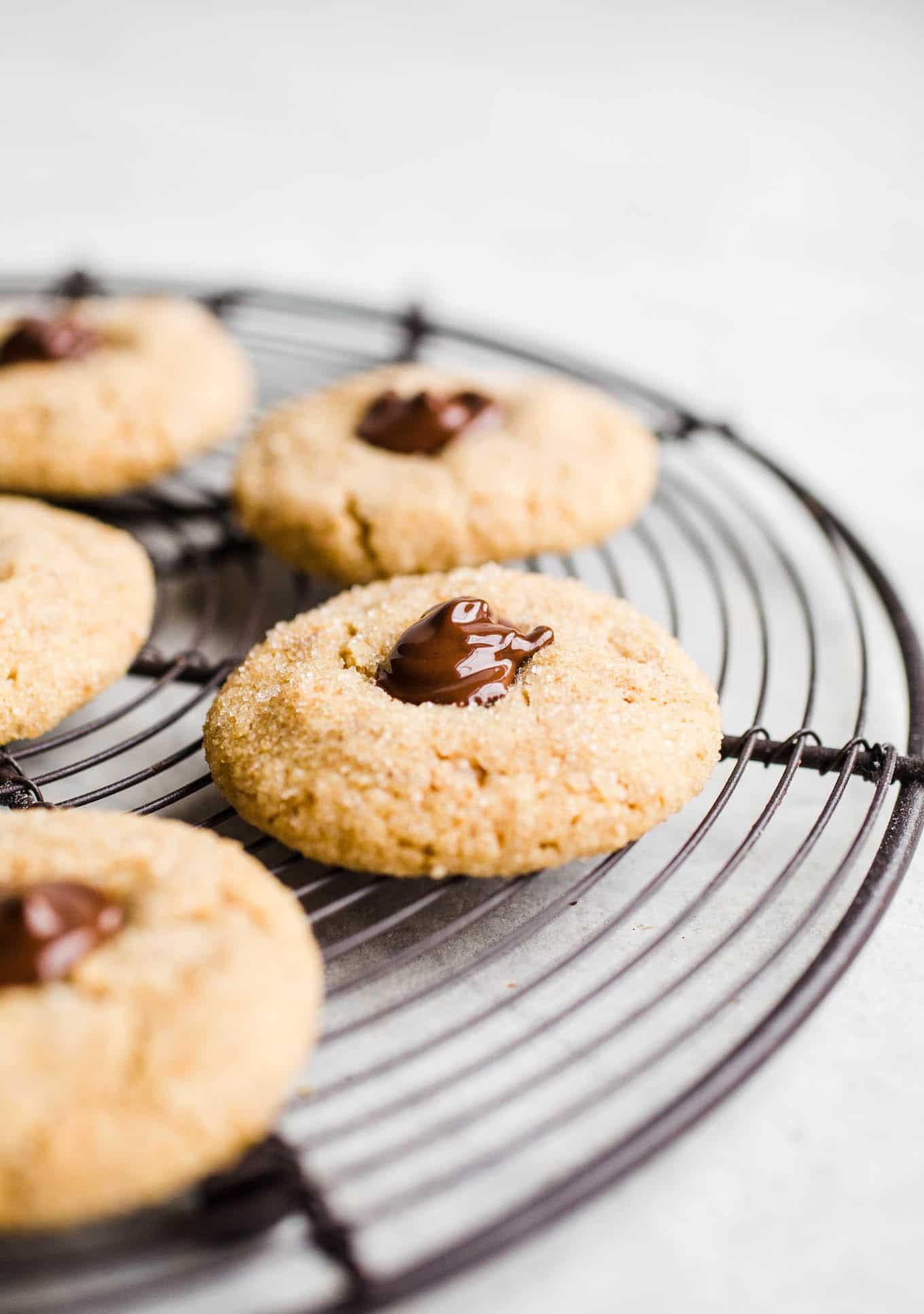 Gluten-Free Vegan Peanut Butter Blossoms