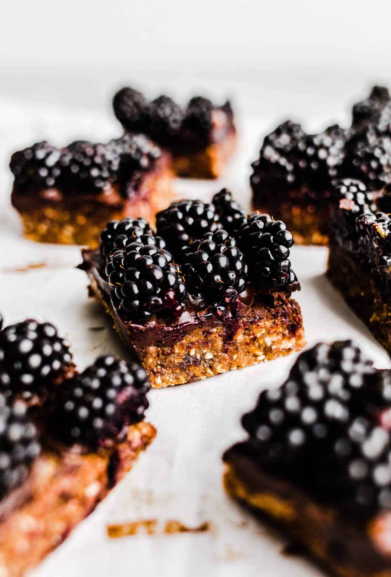 Blackberry Cashew Bars