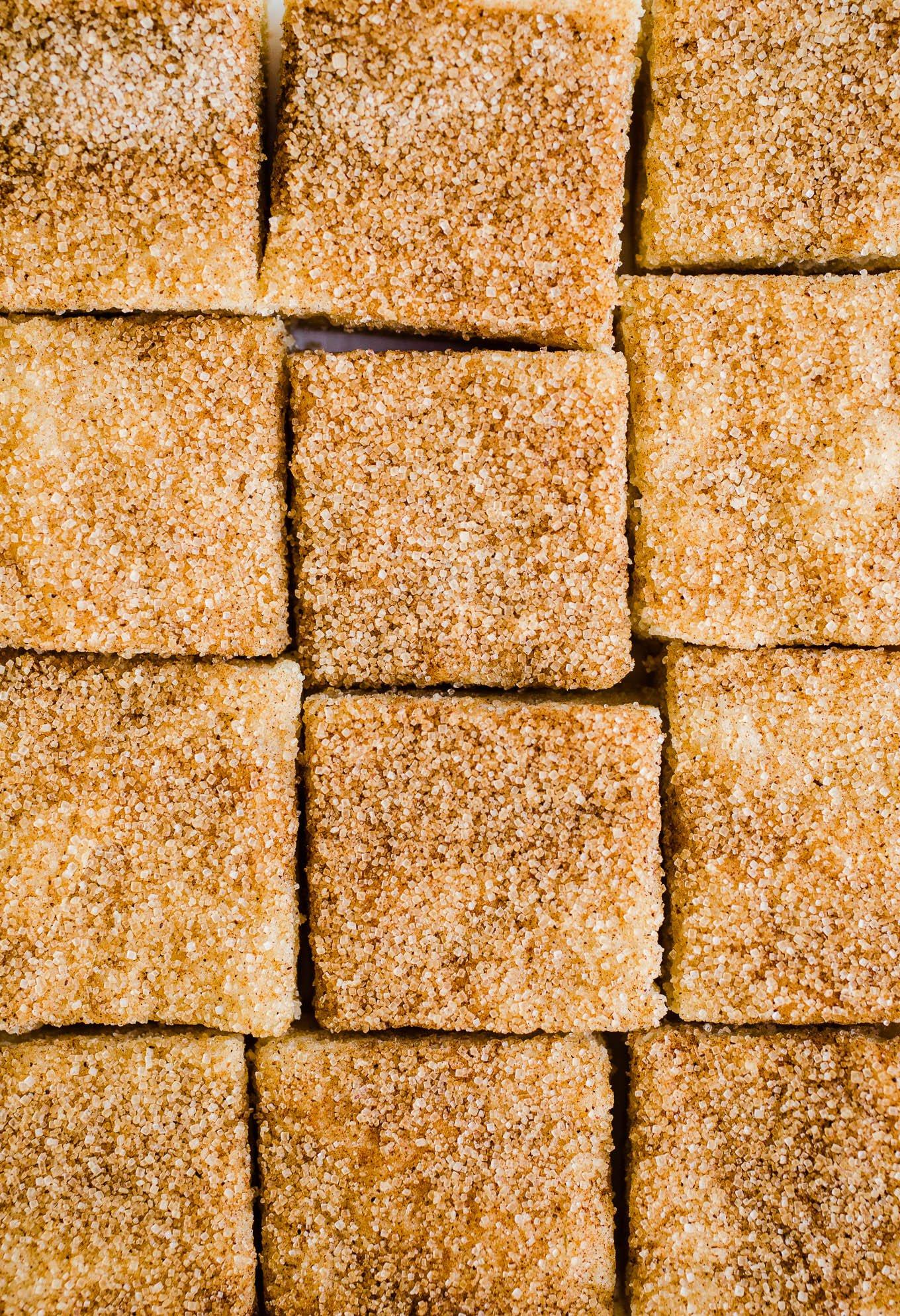 Snickerdoodle squares