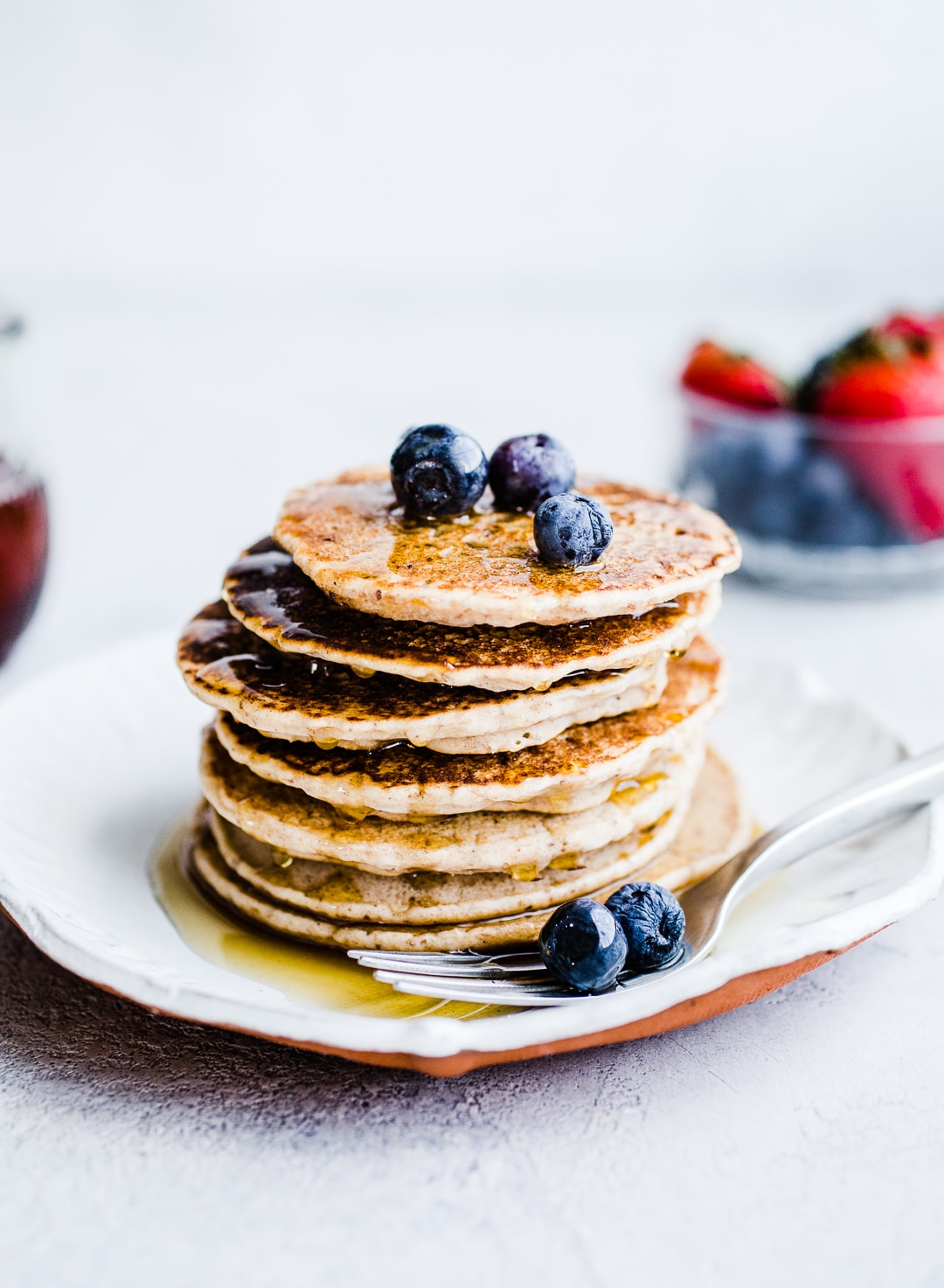 Easy Vegan Buckwheat Pancakes Salted Plains