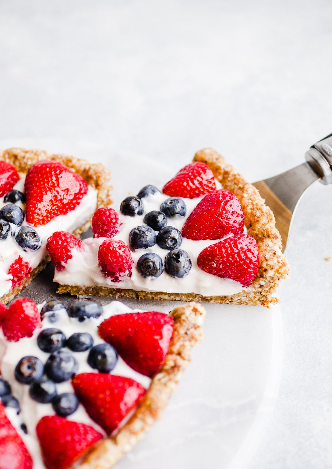 No-Bake Berry Tart