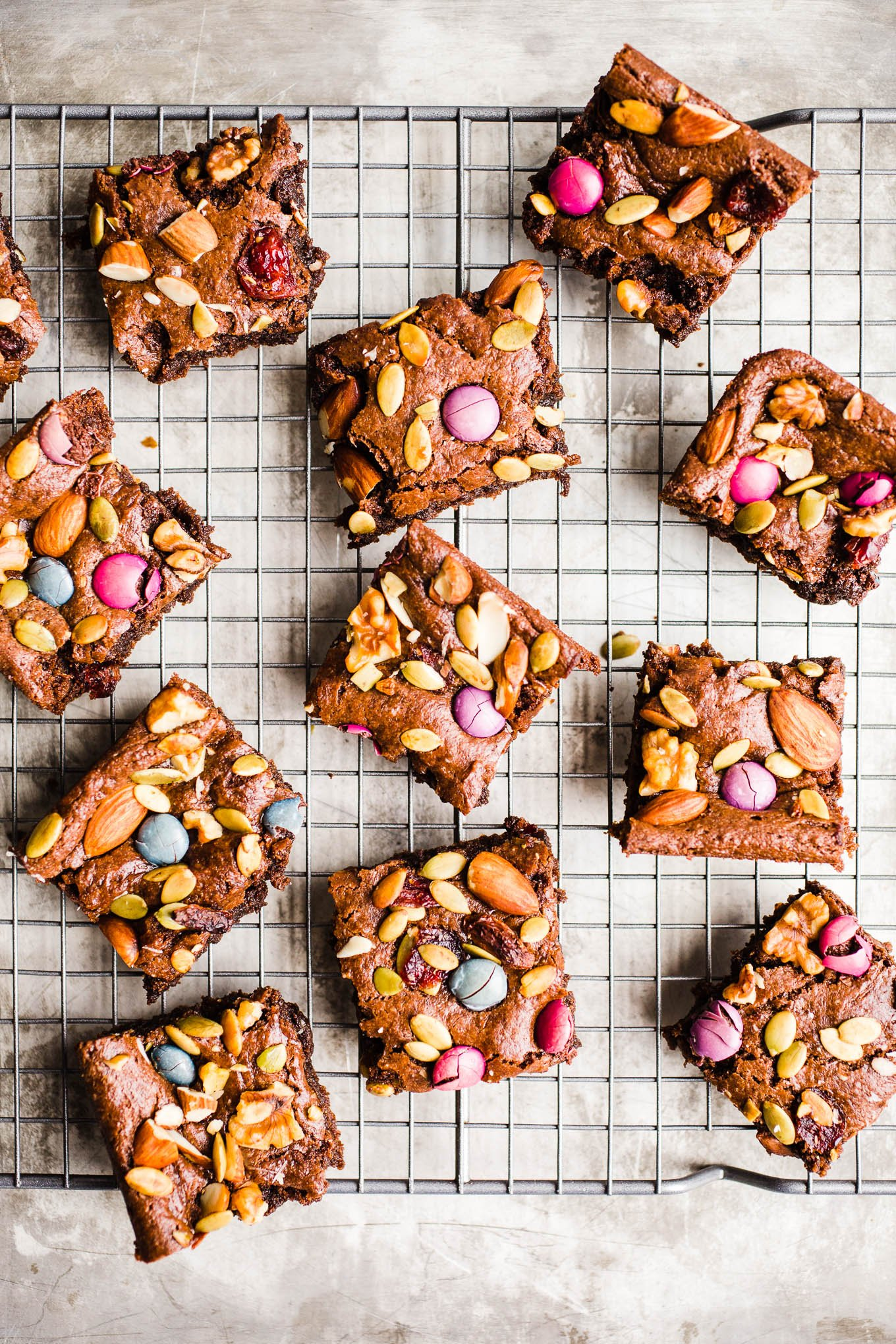 Trail Mix Brownies