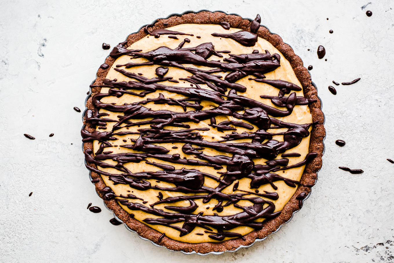 no bake pie with chocolate