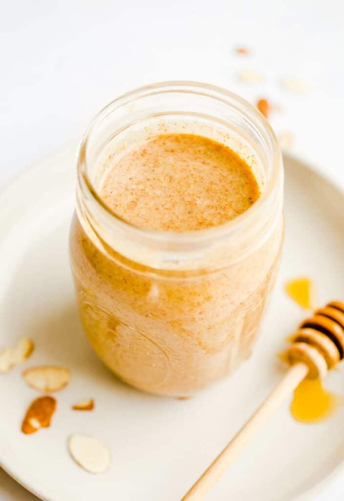 Homemade Honey Roasted Almond Butter