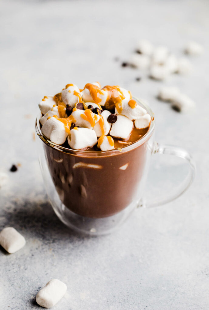 Vegan Peanut Butter Hot Chocolate