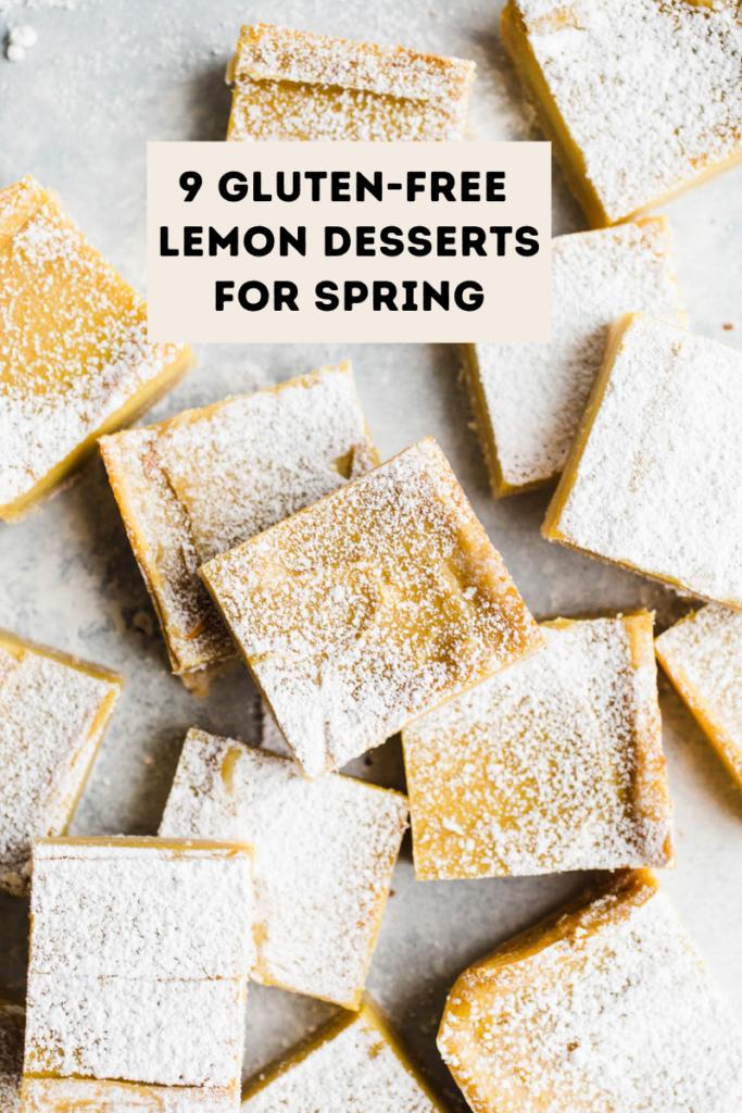 9 Gluten-Free Lemon Desserts for Spring