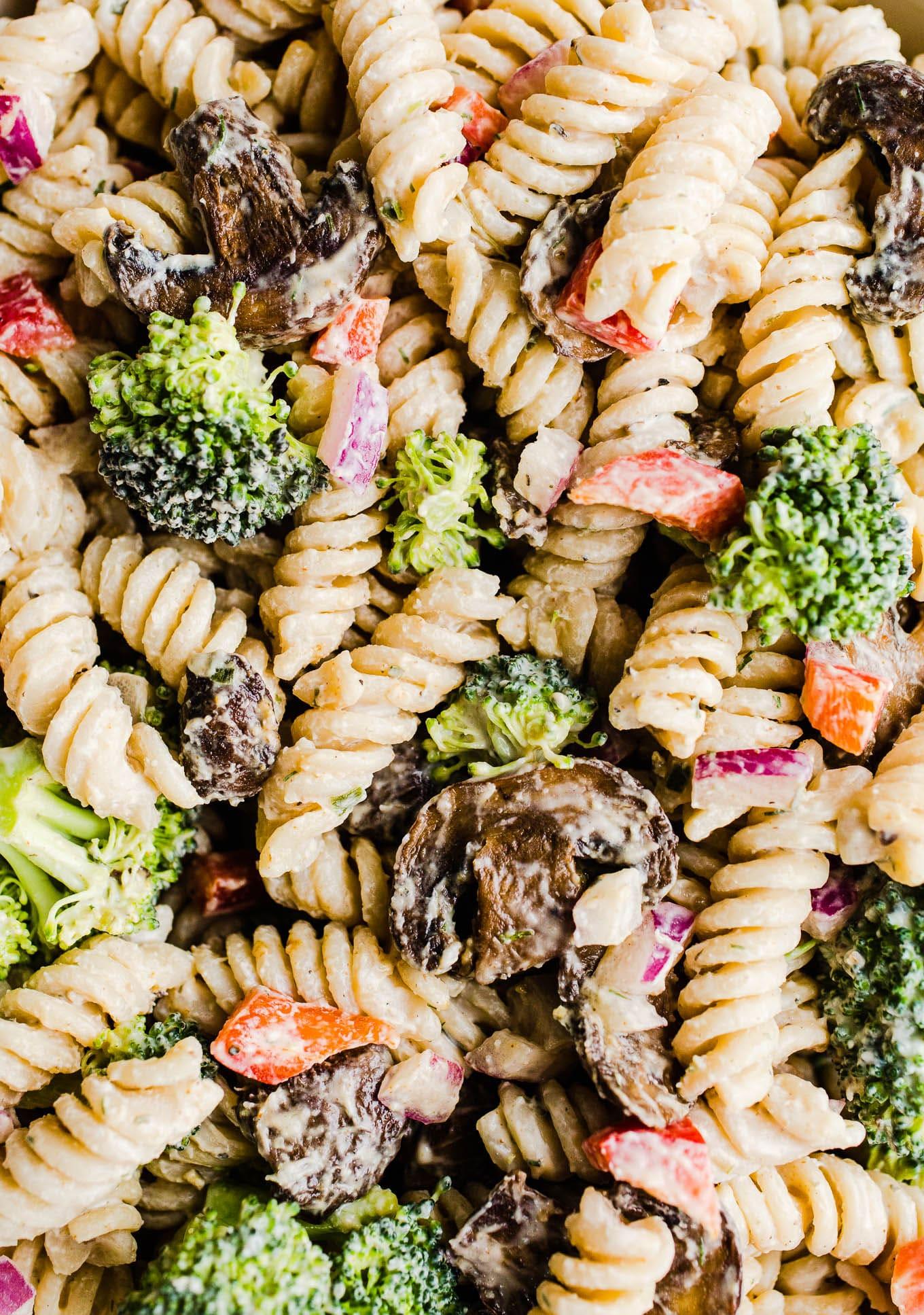 gluten-free ranch pasta salad