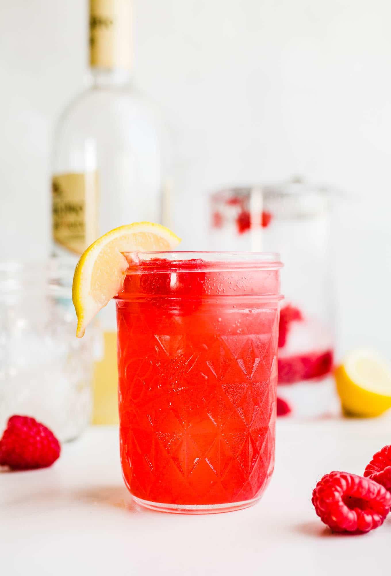 raspberry limoncello cocktail